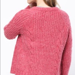 mo:vint Sweaters - Cable knit button up cardigan